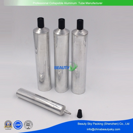 Aluminum tubes for adhesive